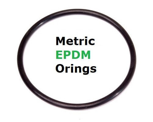 Metric EPDM 70  Orings 6.5 x 2mm  Price for 25 pcs