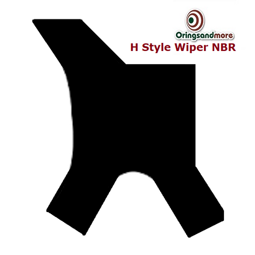 Nitrile H Style NBR Rod Wipers 40 x 48 x 5/7mm Price for 1 pc