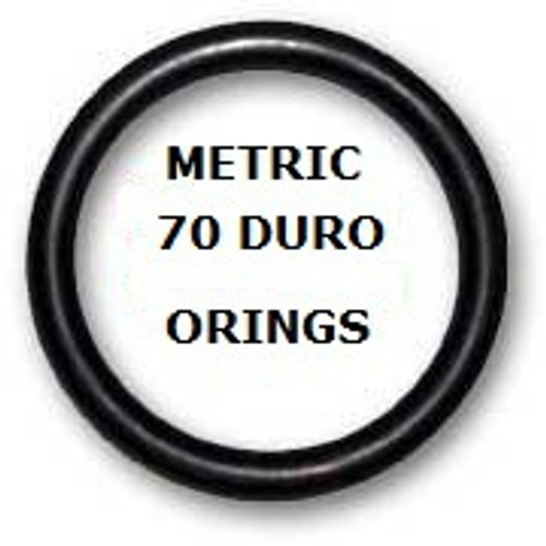 Metric Buna  O-rings 27 x 1.3mm Price for 25 pcs
