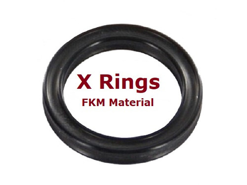 FKM X Rings  Size 020     Price for 2 pcs