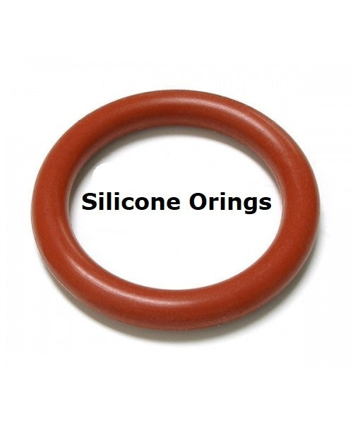Silicone O-rings Size 012   Minimum 100 pcs