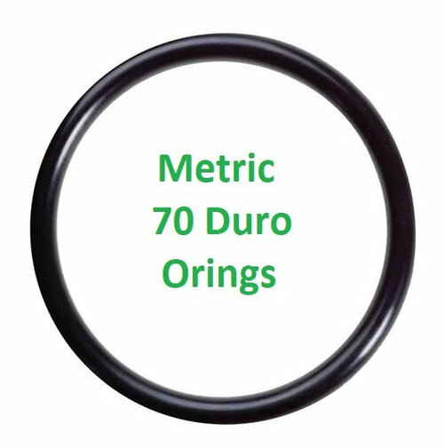 Metric Buna  O-rings 2 x 1mm  Minimum 25 pcs