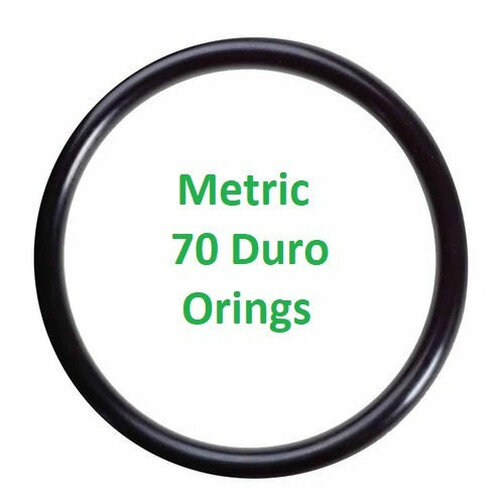 Metric Buna  O-rings 2.8 x 1mm  Minimum 25 pcs