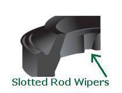 """Rod Wipers Slotted for 1-3/4"""" Rod Price for 1 pc"""