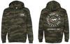 APF Woodland Camo Hooded Pullover Sweatshirt