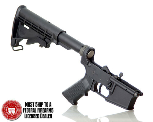 AR15 LOWER RECEIVER ASSEMBLY