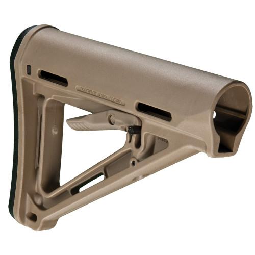 Magpul Industries, MOE Carbine Stock, Fits AR-15, Mil-Spec, Flat Dark Earth Finish