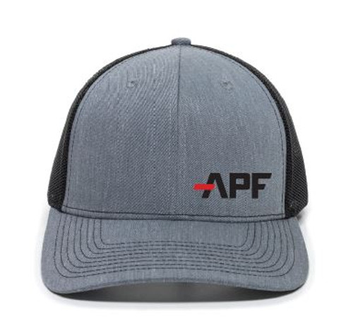 APF Gray and Black Hat