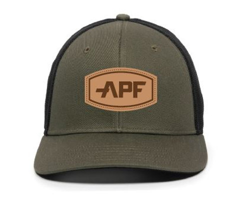 APF Leather Logo Hat
