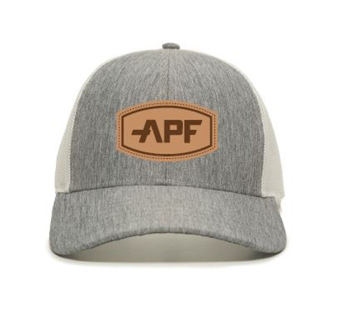 APF Leather Logo Hat Light Color