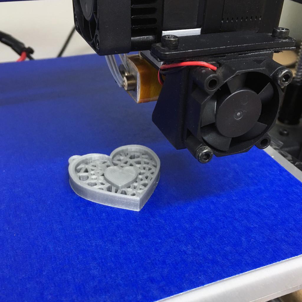 3D Printer Blue Painters Sheet Part