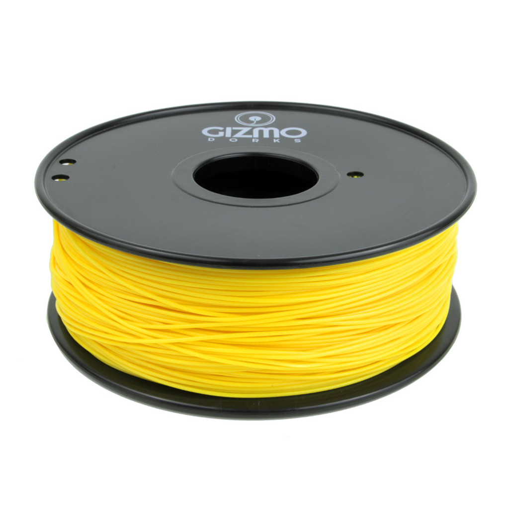 Yellow Polypropylene Filament Unzoomed