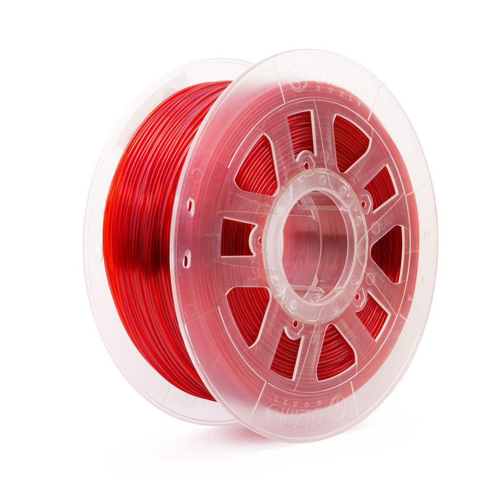 3D Printing Flexible TPU Filament Red