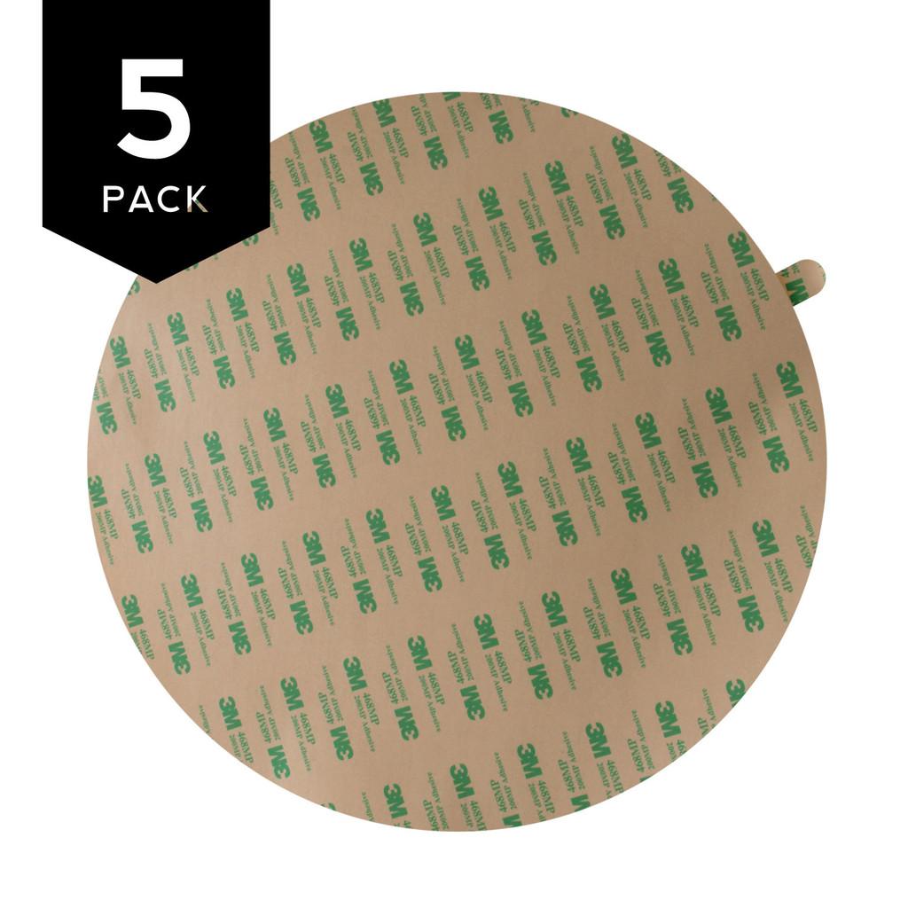 3M 468MP Adhesive Transfer Tape Circle 5 Pack