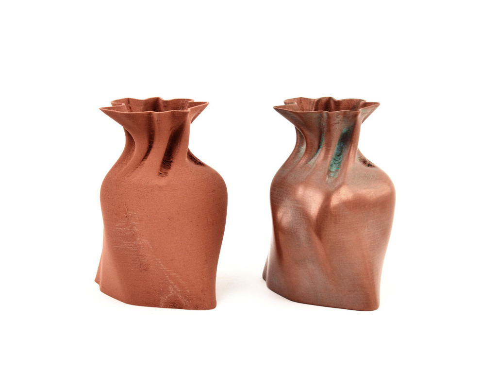 Copper Filament Bags Print