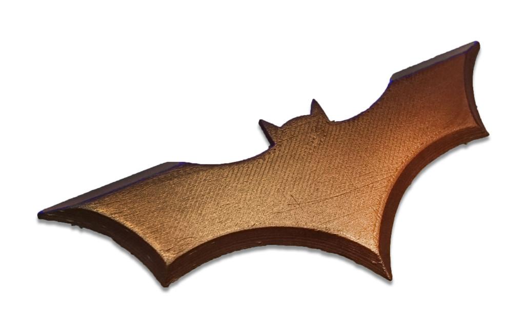 Copper Filament Batman Print
