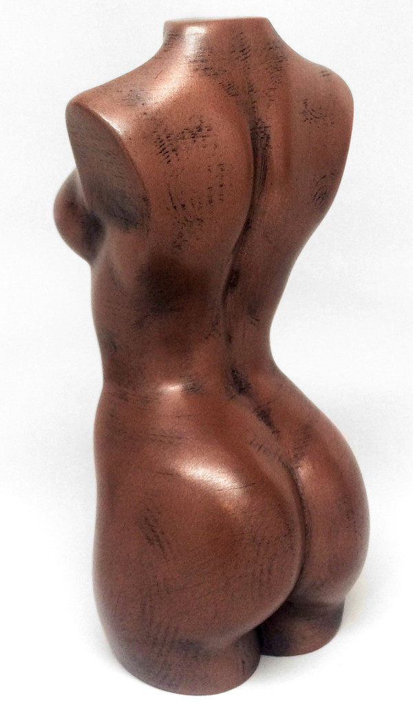 Copper Filament Statue Print