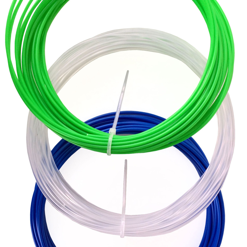 3Doodler Pen Filament Refill Pack Green White Blue