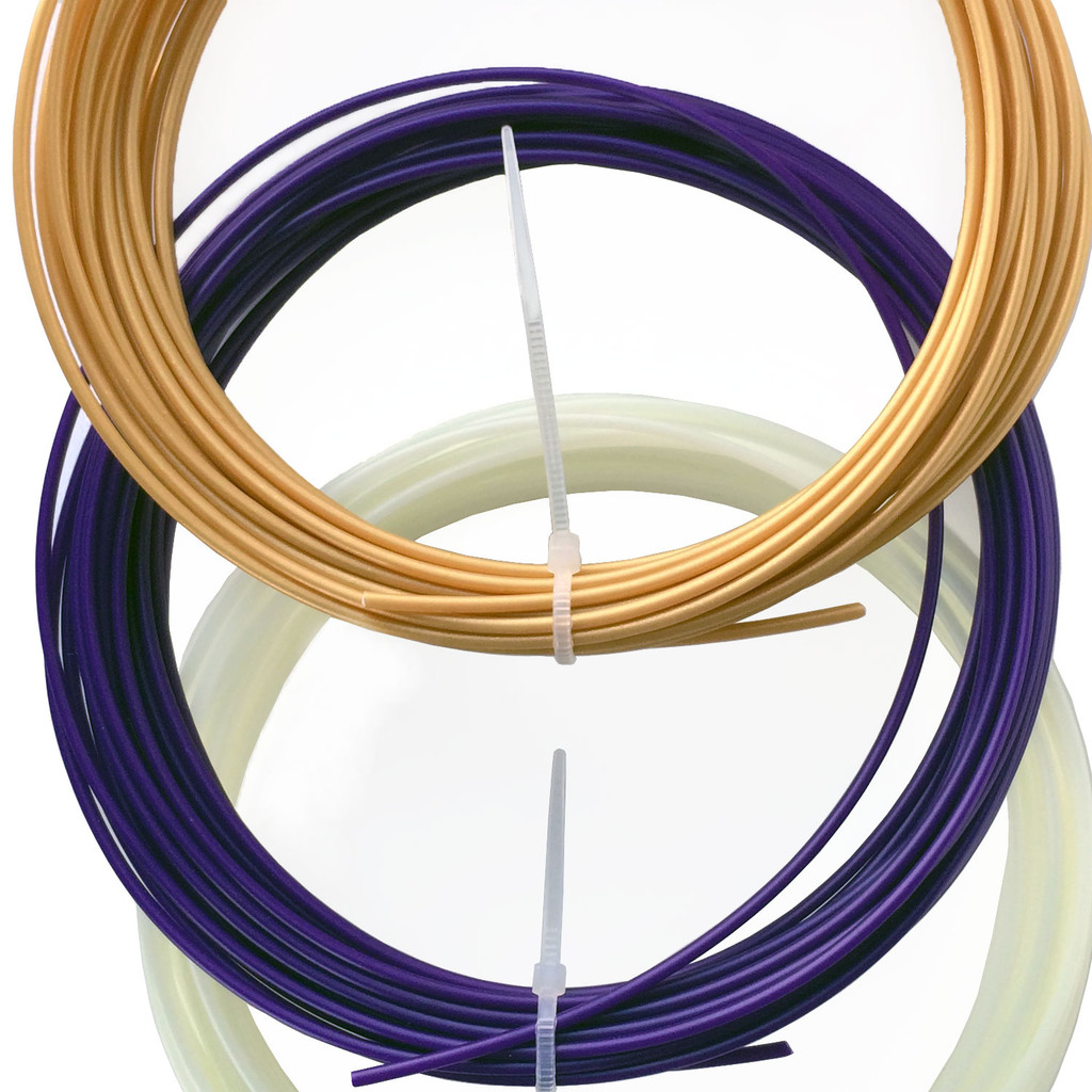 3Doodler Pen Filament Refill Pack Gold Purple Glow