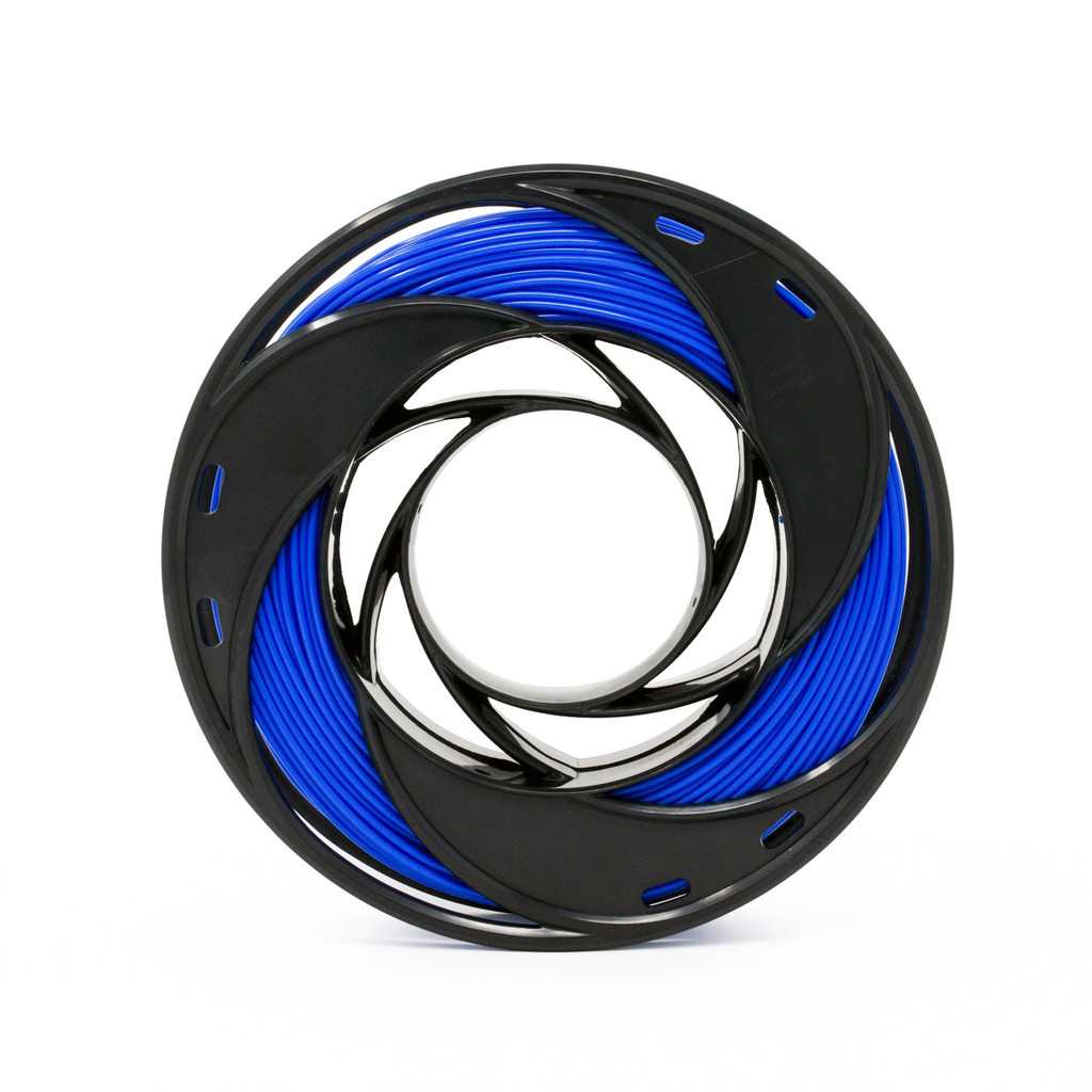 PLA Filament Small Format 200 g Spool Side View