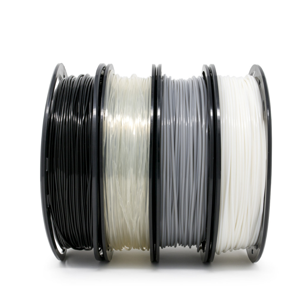 PLA Filament 200 g Spool 4 Color Pack Option 1 Side View