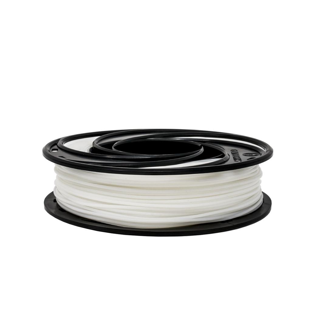 Acetal Filament Small Sample Spool Flat View