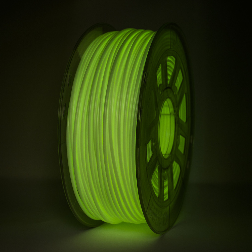 3D Printing HIPS Filament Glow in the Dark