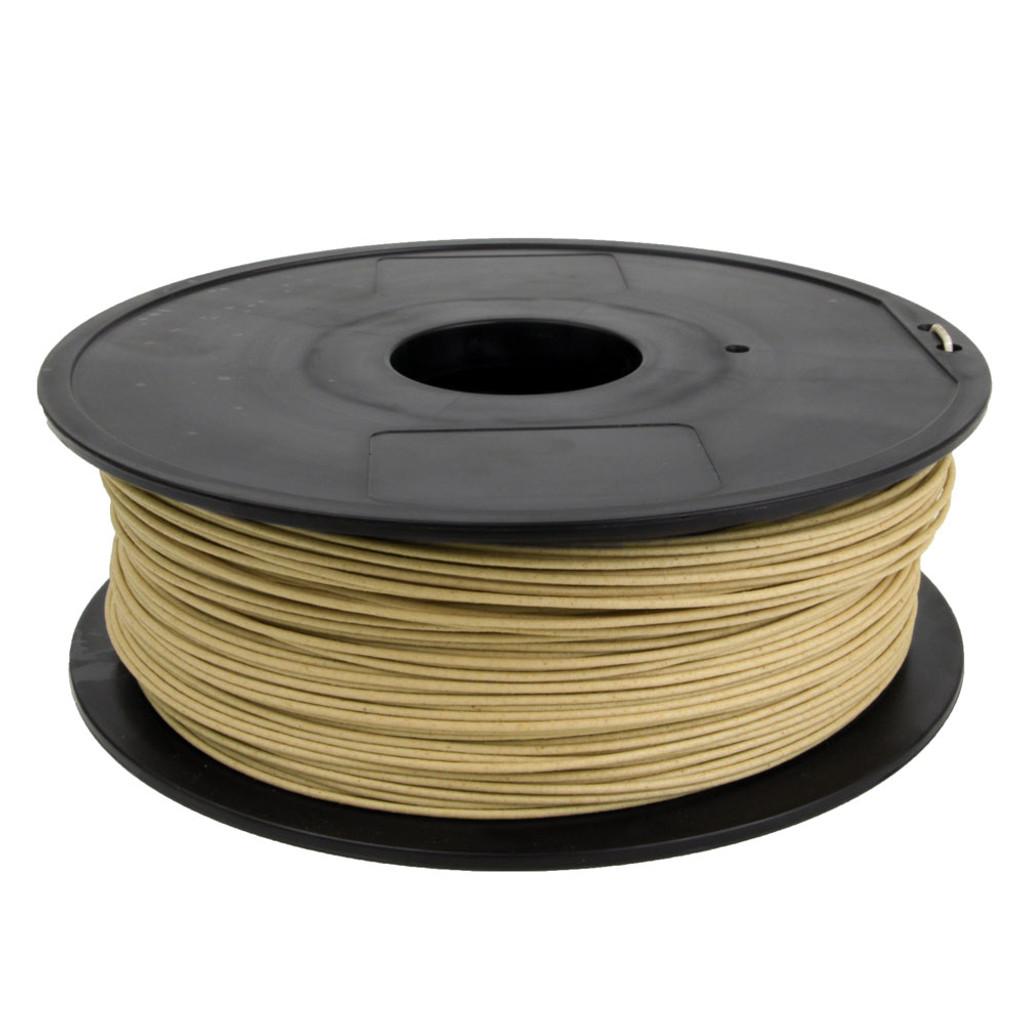 Wood Filament 1.75mm Natural Zoom View