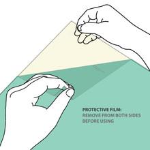 PEI Sheet Square Removal Diagram