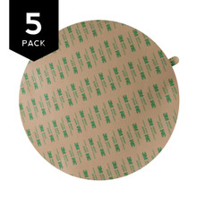 3M 468MP Adhesive Transfer Tape Circle 5 Pack
