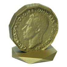 Bronze Filament Coin Print