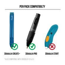 3Doodler Pen Filament Refill Pack Compatibility Chart