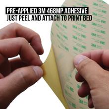 Ultem PEI 3D Printing Surface Remove Liner