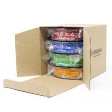 PLA Filament 200 g Spool 4 Color Pack Packaging