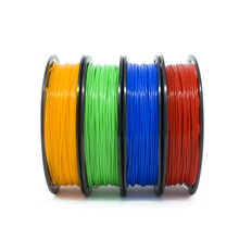 PLA Filament 200 g Spool 4 Color Pack Side View