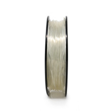 Polycarbonate Filament Small Spool Transparent Front View