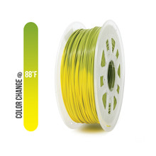 PLA Filament Color Changing Green to Yellow