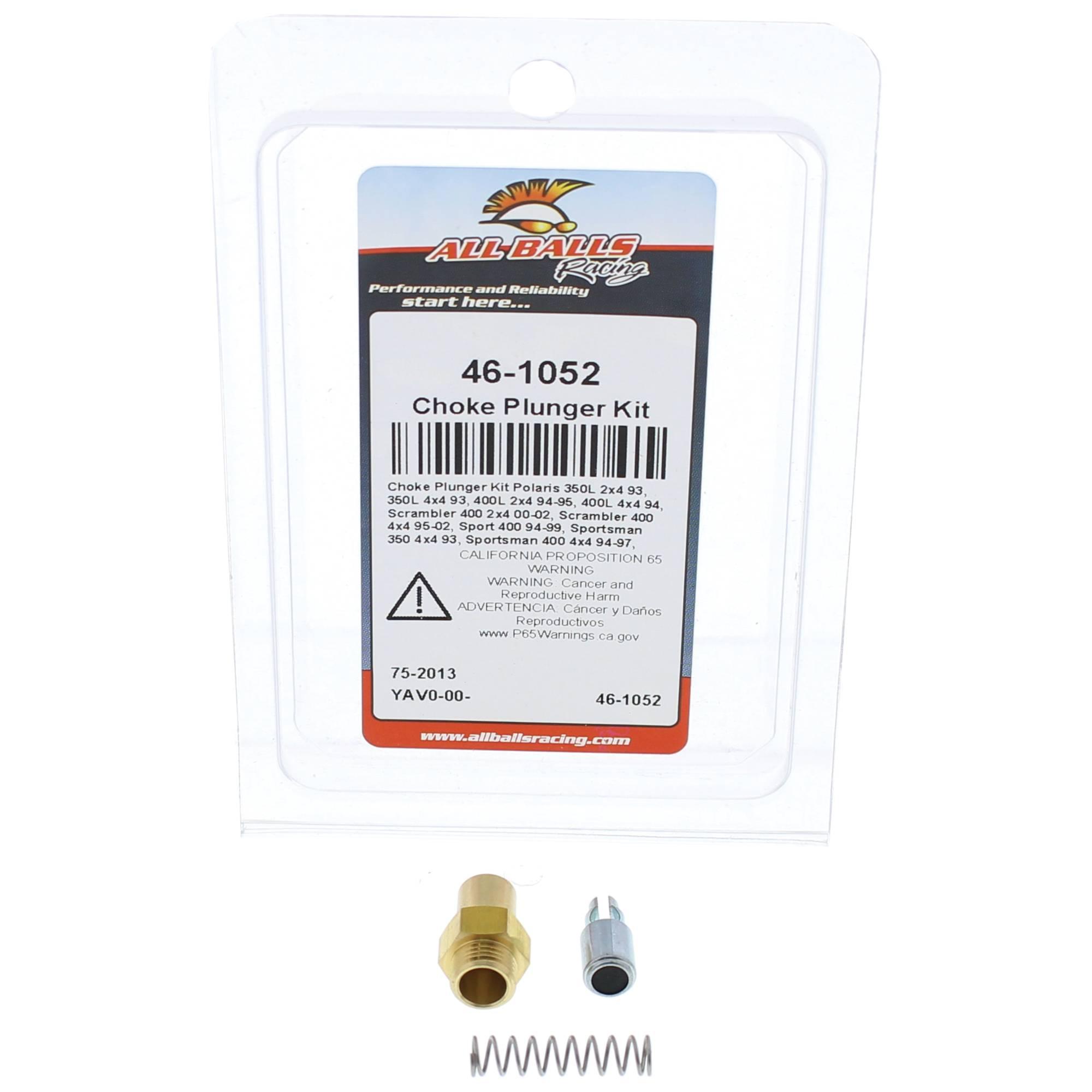 All Balls Choke Plunger Kit (46-1052) for Polaris Scrambler 400 2x4 00 01 02