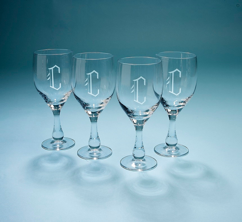 Personalized Madeira Wine Glasses