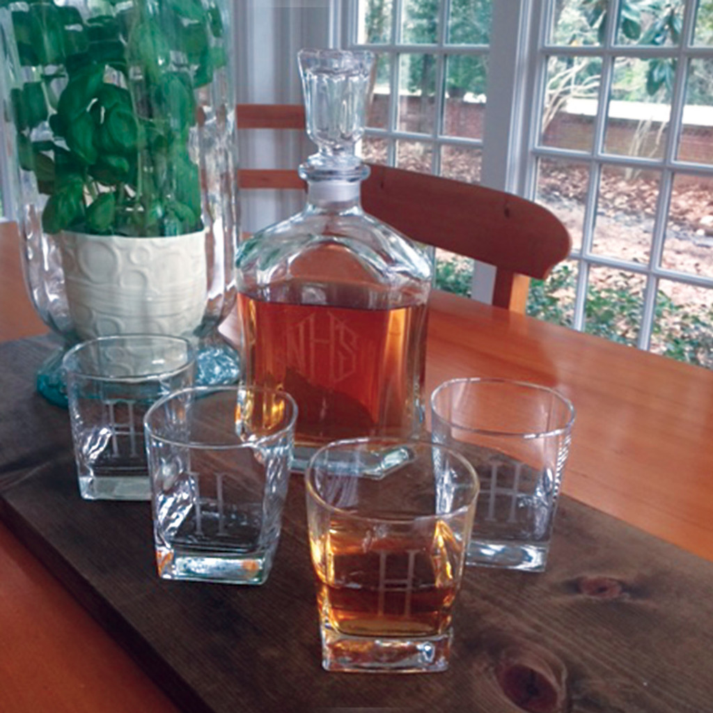 Raleigh Decanter Set, 5 pieces