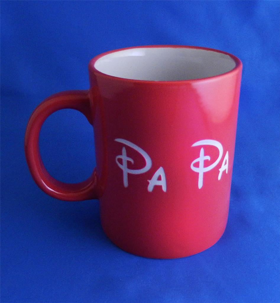 Personalized Red Ceramic Standard Coffee Mug