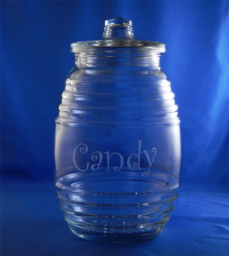 Personalized Honeybee Candy Jar