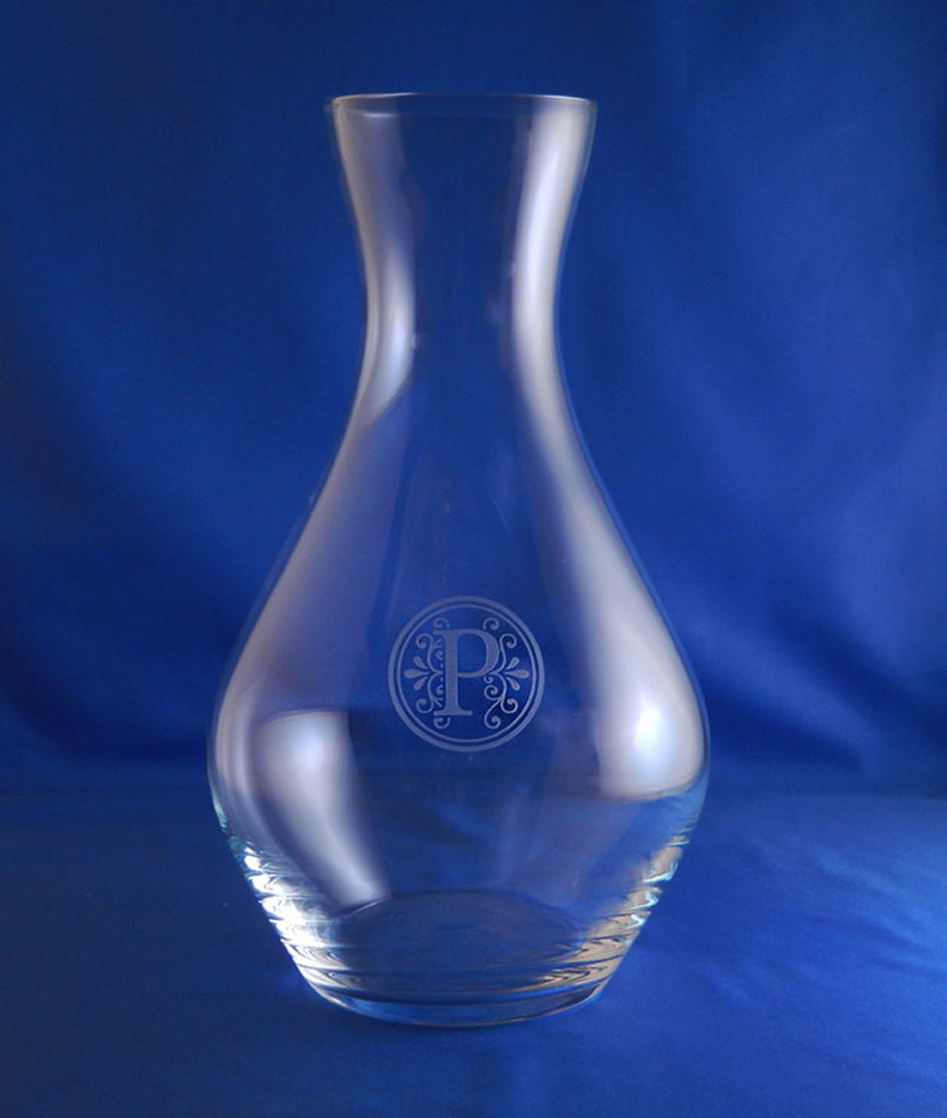 Personalized Sonnet Carafe
