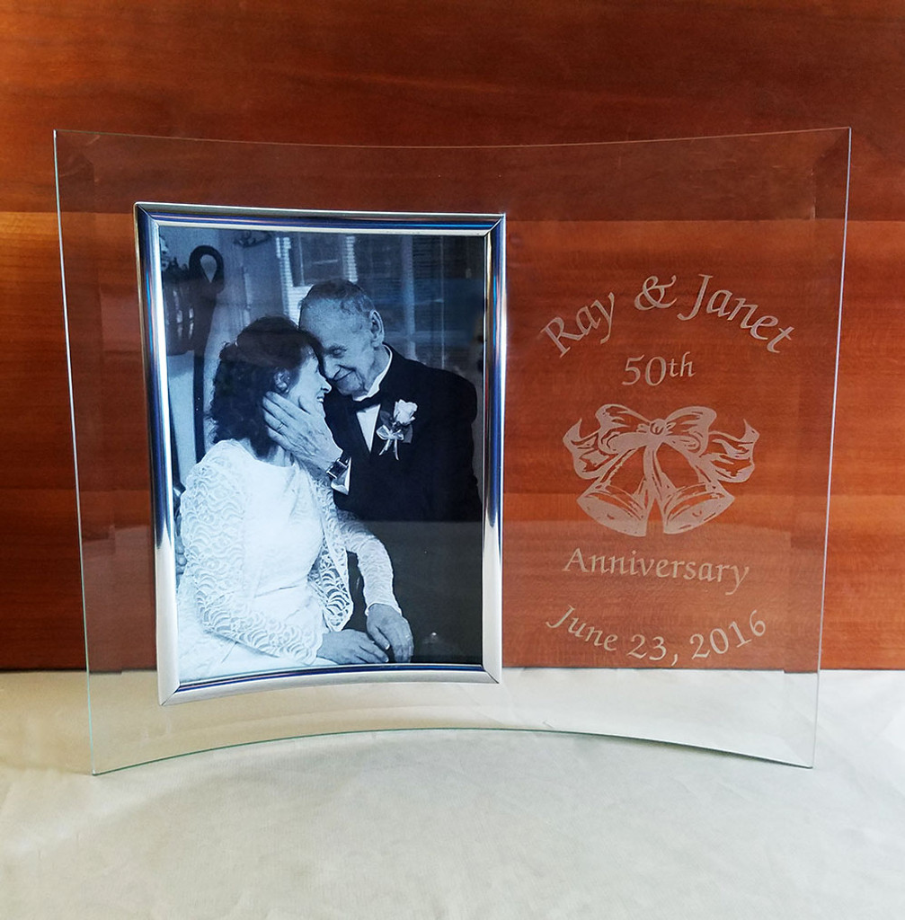 Personalized 50th Anniversary Frame