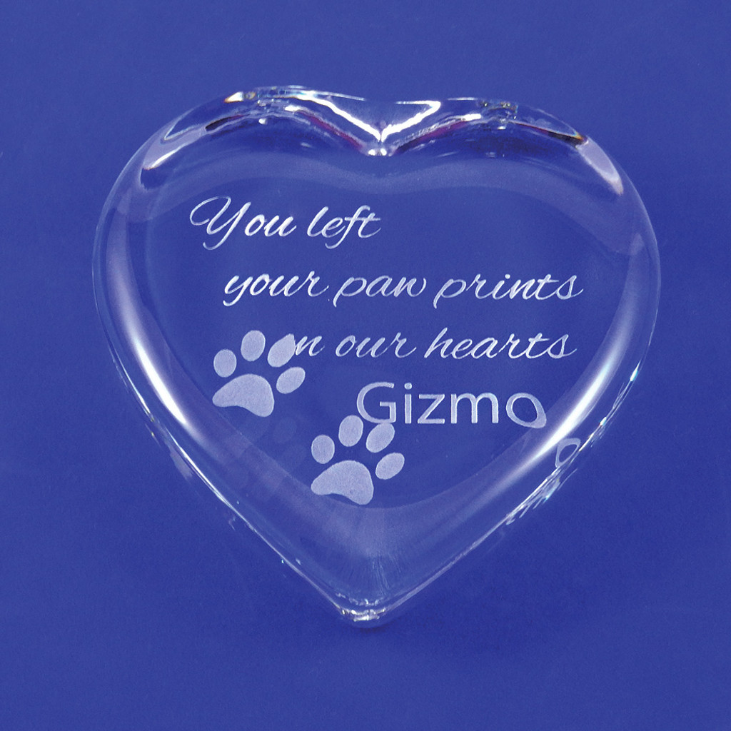 Personalized Dog Memorial Keepsake