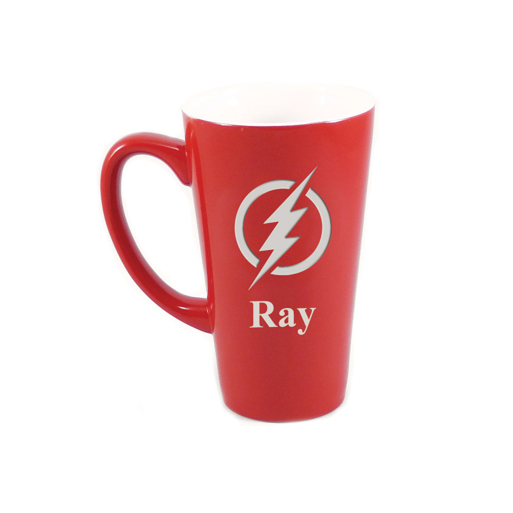 Personalized Red The Flash Mug