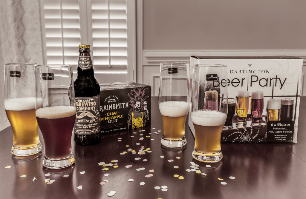 Personalized Dartington Beer Party Set