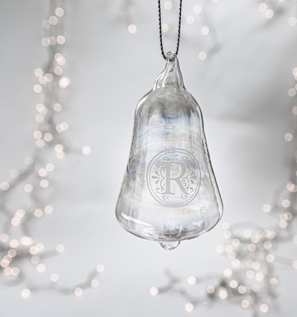 Personalized Hand Blown Crystal Ornament