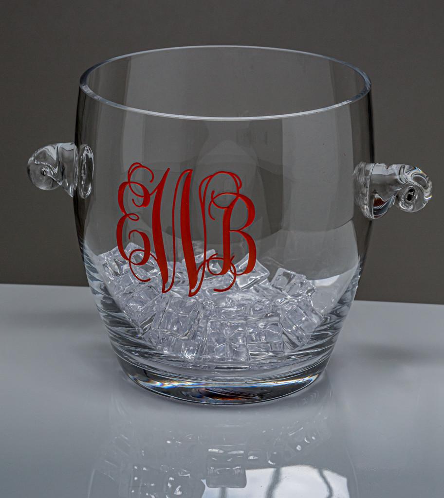 Personalized Ice Bucket