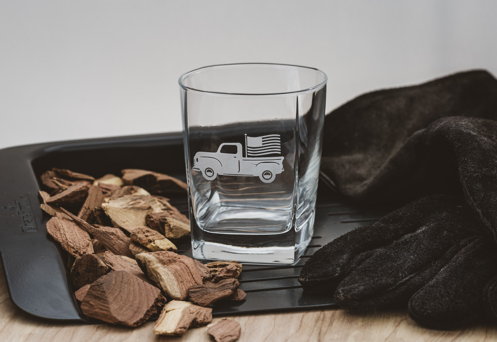 American Truck Cocktail  Glasses set of 4